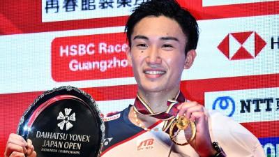桃田贤斗在日本公开赛大热封王。