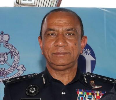 柔佛总警长拿督莫哈末卡立尔