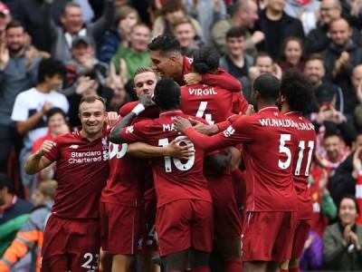 利物浦是英超唯一全胜球队。
