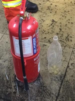 图为装汽油用的塑胶瓶。