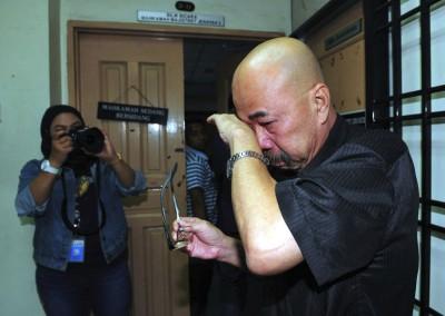柔佛人民社警主席叶一德。