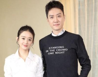 赵丽颖与冯绍峰坚决不放松口恋情。