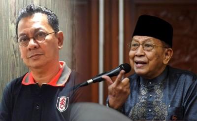 (左)旺哈米迪或受委领导《马新社》,因背景而受置疑会把国家通讯社政治化。(右)莱斯雅丁:不是很好的选择。