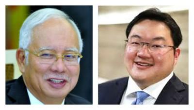 纳吉(左)与刘持佐的口供,对完成一马公司听证会有相当重要。