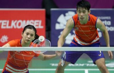 陈炳顺/吴柳莹率先挺进半决赛。
