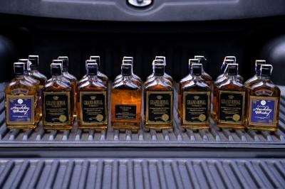 "其中两种疑有问题的烈酒""Grand Royal Whisky""及""Mandalay Whisky""。"