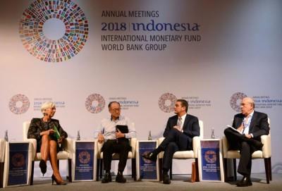 反对党抨击印尼政府花大钱处国际货币资金组织及世界银行年会。