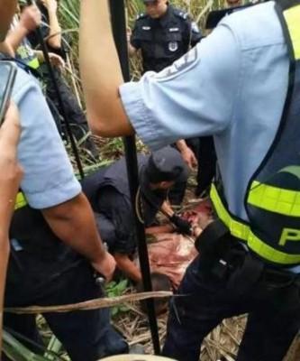 警署最后以甘蔗地用嫌犯拘捕。