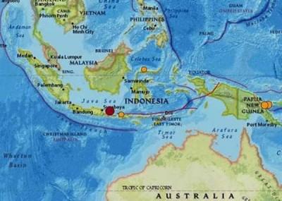 印尼爪哇岛周四凌晨发生6级地震。