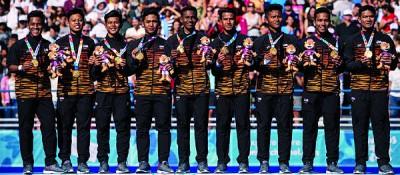 大马5人男钩球在青奥会为我国贡献第2枚金牌。