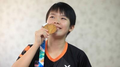 吴堇溦成为大马首位摘下青年奥运会金牌的运动员。