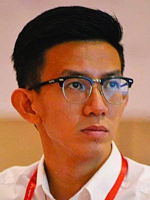 传言将竞选民青总团长的黄志毅。