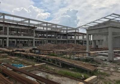 柏淡太子城国小兴建工程逾45%,预计将在2020年开课启用。
