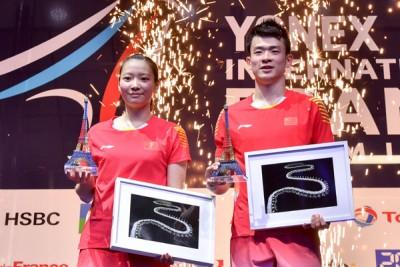 在法国站夺标后,郑思维/黄雅琼迎赛季第8冠。