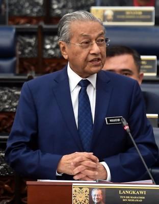 马哈迪:撙节措施影响经济乃暂时性。