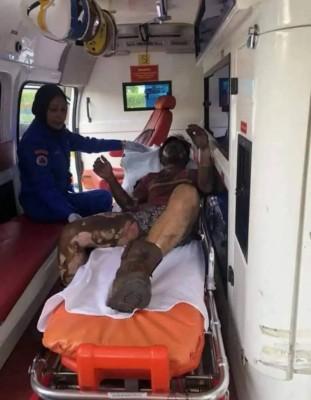 9天前送院抢救的莫哈末祖法依,周一下午在院不治。(警方官方图)