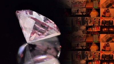 纳吉澄清指,有关粉红巨钻项链虽是阿联酋王子所赠,惟其夫人罗斯玛最终都没有接受。