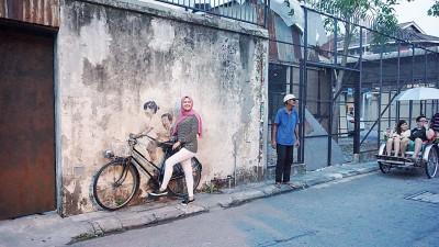 槟城有不少景点是旅游打卡的好地方。