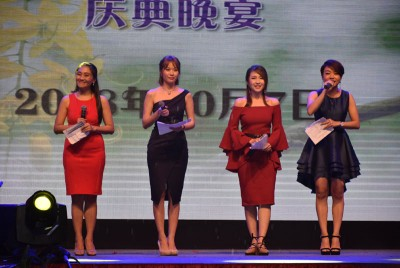 日新4大美女主持,王丽傧、王菁忆、陈韵传及黄佩玲。