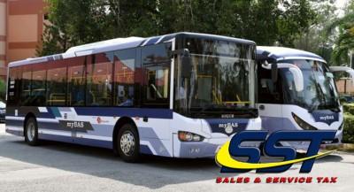 财政部决定给予拥有合法准证的巴士业者豁免本地组装巴士销售税。