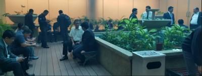 :国会建筑物全面列为禁烟区,抽烟室也关闭。(图片取自《马来西亚前锋报》)