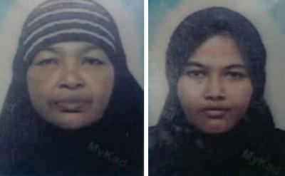 (左)64岁死者诺玛(右)35岁死者诺丽娜