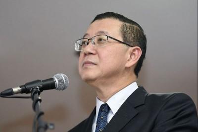 财政部长林冠英(档案照)