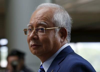前首相纳吉(档案照)