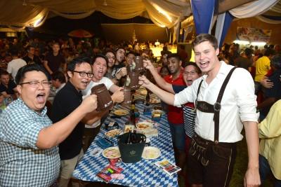 """槟州德国啤酒节连今年已举办第46个年头,可算是槟州的""""传统节庆""""之一。"""
