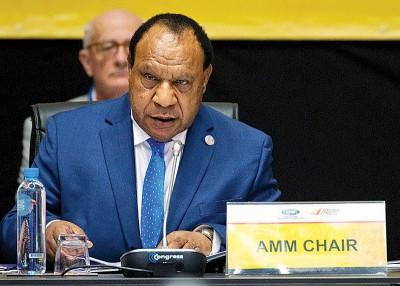 帕托拒绝与中方官员单独会晤。