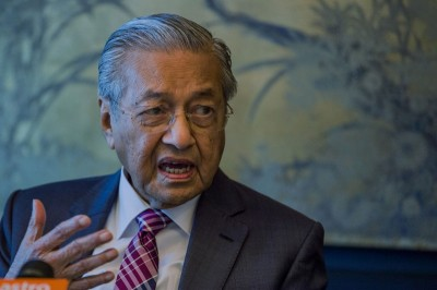 马哈迪说,我国用取得日本帮投资人工智能工业,据此提高本国的科技业。