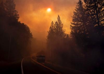 随着风势加剧,火势可能蔓延得更快。