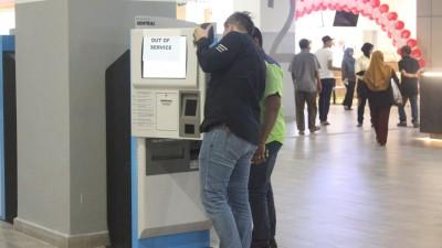槟城中环广场(PENANG SENTRAL)运作次日,所有电子系统出状况紧急修复,暂停运作半天。