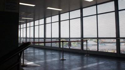 直通火车站的专属冷气通道基于安全问题停止使用。