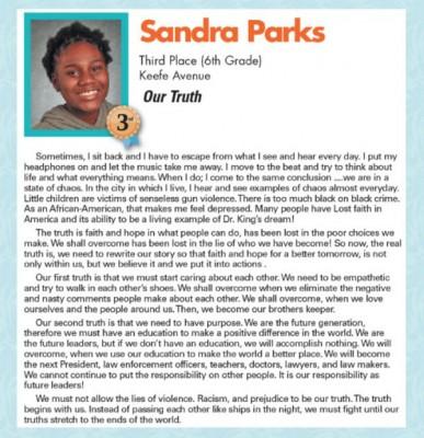 美国13春女童珊达拉两年前到比赛的篇章。