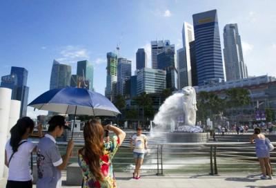 新加坡游客。