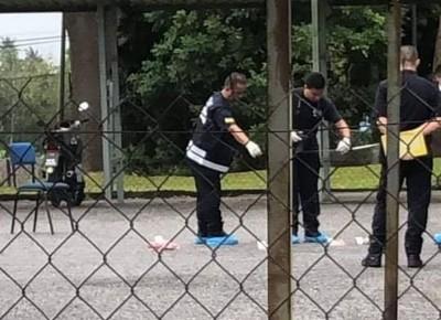警方到场展开调查。(图片取自脸书Melaka Daily专页)