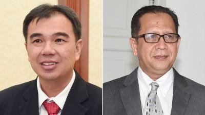 孙意志(左):能省则省,不要浪费人民的钱。阿都哈林(右)出国次数最多,6趟公干总开销达逾13万令吉。