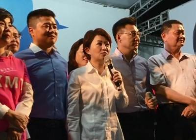 卢秀燕发表当选。