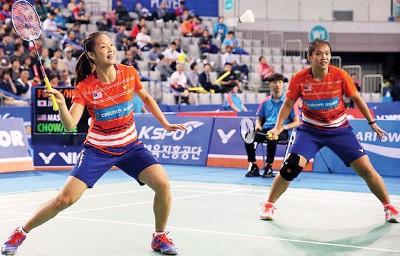 邹美君/李明晏独闯半决赛。