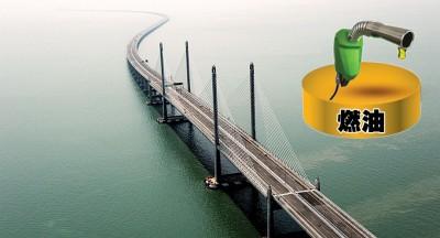 2019年1月1日起,政府将停收槟城苏丹阿都哈林大桥(第二大桥)摩托车过路费。
