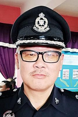 吉州警察总部交警组主任蔡尚林促交通违规者趁可享有50%折扣价尽快解决手头上所拖欠的罚单。