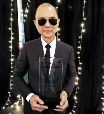 """周仰杰(Jimmy Choo)特从上海飞返新山,出席""""STYLO绅士周""""时尚活动。"""