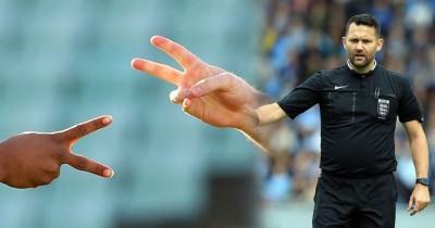 英国裁判大卫·麦克纳马拉(David McNamara)忘了带硬币而被球员猜拳选边,给英足总禁赛21上。