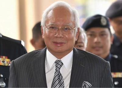 纳吉的3项刑事失信和1项滥用职权案审讯,在吉隆坡法庭进行。