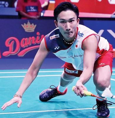 桃田贤斗放话中国站要重斩下中国的林丹。