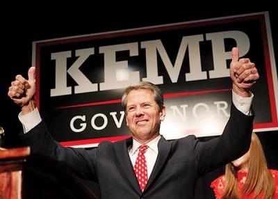 肯普认为自己已经胜出选举