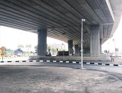 槟城中环广场前北海外环公路高架桥下3个空旷空间将赋予新生命。