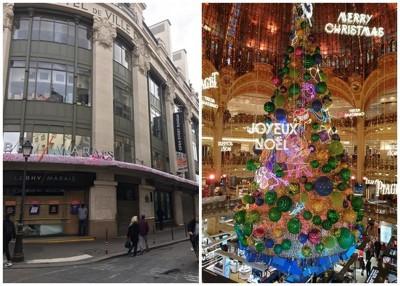 百货公司关门,大部分国民已改为在网上购买圣诞礼物。