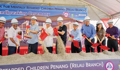 槟州特殊儿童学校新港分校于当年3月举行动土礼。